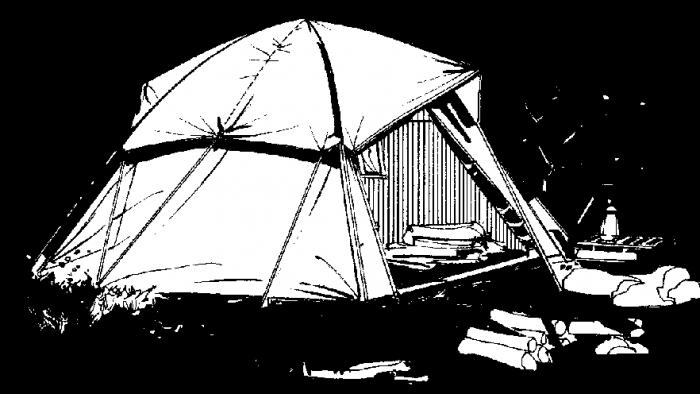 Mittelalter Zelt Deko : Zelttypen survival wiki